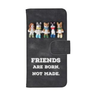 Friends ウォレットフォンケース