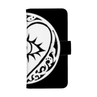 HS (ホワイト サークル) ウォレットフォンケース