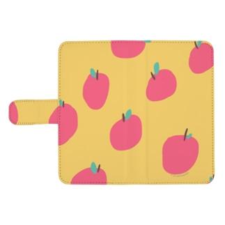りんごの収穫祭 ウォレットフォンケース