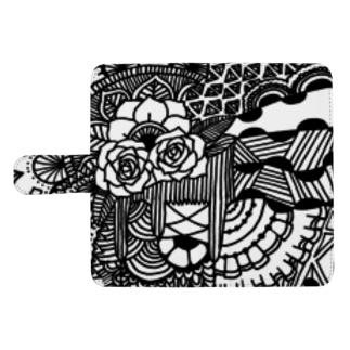 薔薇の手引き ウォレットフォンケース