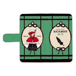 【売り切れ】【再販】開運道の大正ロマンケース(手帳型)【ポケット3個付き】 ウォレットフォンケース
