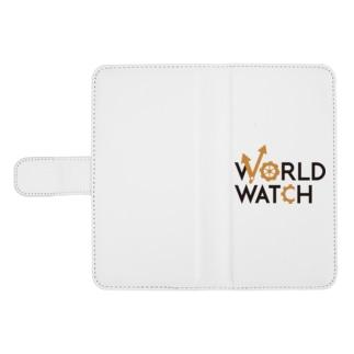 WORLD WATCH ウォレットフォンケース