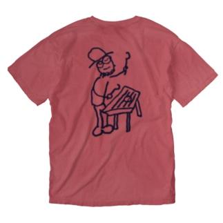 ダルシマンB Washed T-shirts