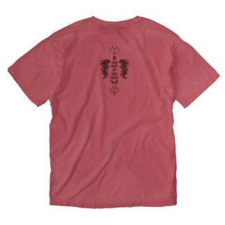 ベクトルPOCKET/ハート Washed T-shirts