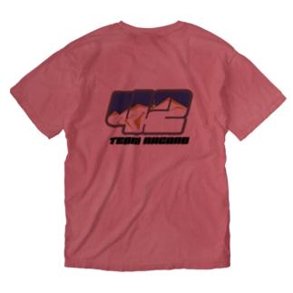 ゼッケンロゴ Washed T-shirts