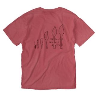 うるいマトリョーシカ Washed T-shirts