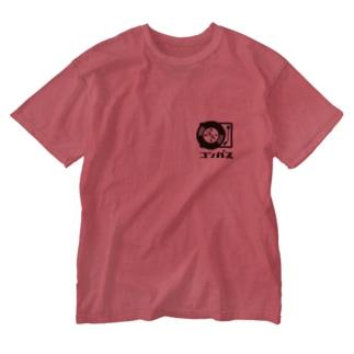 コンパス Washed T-shirts