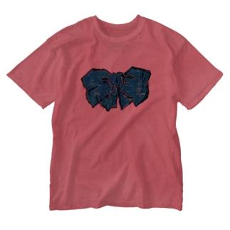 あおいりぼん Washed T-shirts