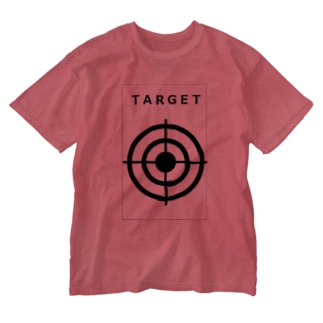 TARGET グッズ Washed T-shirts