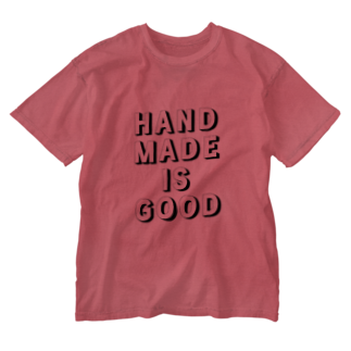 あべのHANDMADE IS GOOD Washed T-shirts