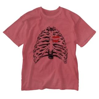 肋骨 Washed T-shirts