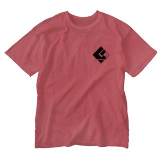 G.Sグループオリジナルデザイン(黒文字) Washed T-shirts