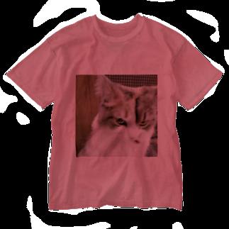 esuaiのアニマル7 Washed T-shirts