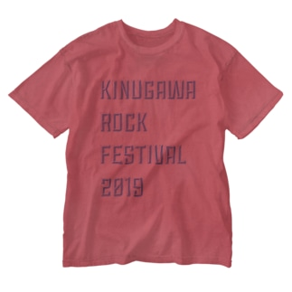 鬼怒川ロックフェス2019 Washed T-shirts