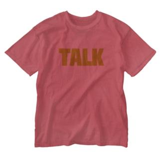 TALK Washed T-shirts