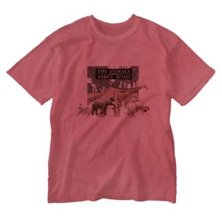 憧れ Washed T-shirts