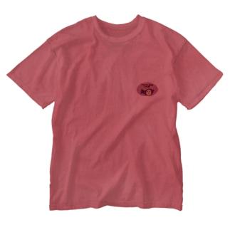 石焼ゴリライモ Washed T-shirts