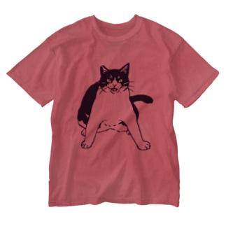 ここを通りたければ俺を倒して行け Washed T-shirts