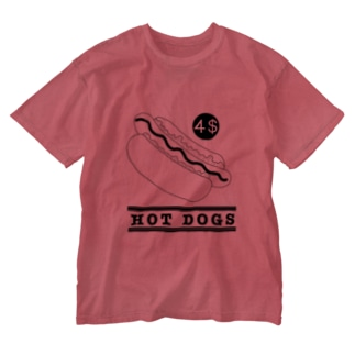 HOT DOGS Washed T-shirts