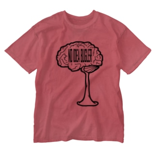 NO IDEA BUGLER Washed T-shirts