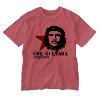 GUEVARA ゲバラ Washed T-shirts