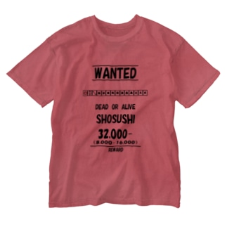 WANTED(小四喜) Washed T-shirts