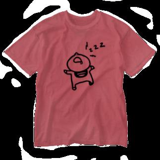 えりっくの寝る子は起こさない。 Washed T-shirts