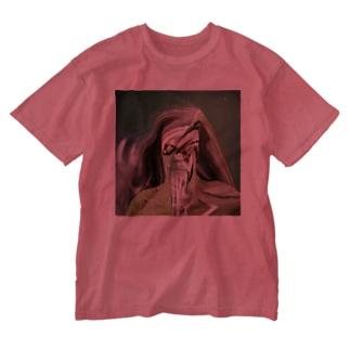 Green man  Washed T-shirts