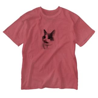 monochrome peroCAT Washed T-shirts