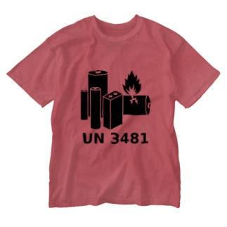 UN3481 Washed T-shirts