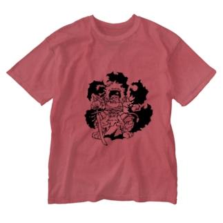 かぶき者 Washed T-shirts