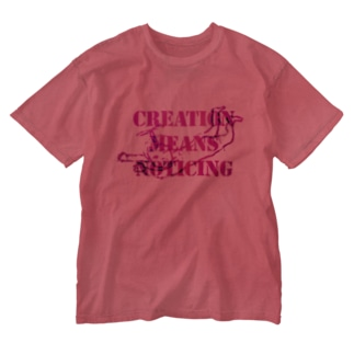 Angel message ~ Creative means... Washed T-shirts