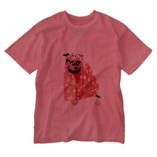 獅子舞GONちゃん Washed T-shirts