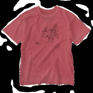 鹿児島ユナイテッドFC公式グッズショップの【 KUFC 】 REAL UNI-KU T-SHIRT Washed T-shirts