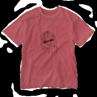 linaのone shot  Washed T-shirts