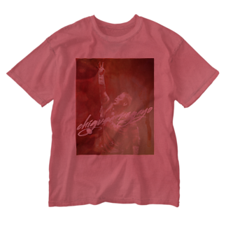 長与 千種 Chigusa Nagayoの長与千種の『赤いイナズマ』 Washed T-shirts