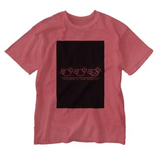 蟹ルルT Washed T-shirts