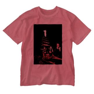 平氏旗艦「武雷乃祭壇」 Washed T-shirts