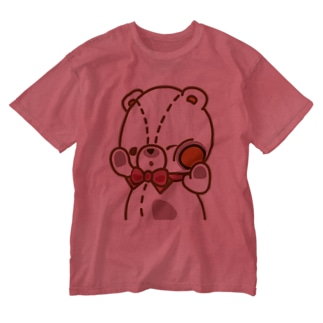 ラムの「のぞき見」編 Washed T-shirts