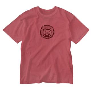 ハリネズミ Washed T-shirts