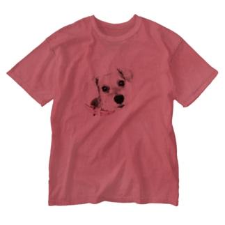 koharunrunのこっちゃん Washed T-shirts