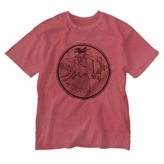 マイナス Washed T-shirts