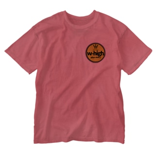 w-high  Washed T-shirts