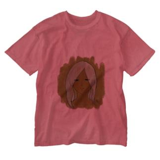 うっとり之助 Washed T-shirts