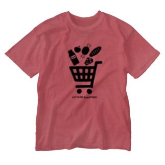 ショッピングカート Washed T-shirts