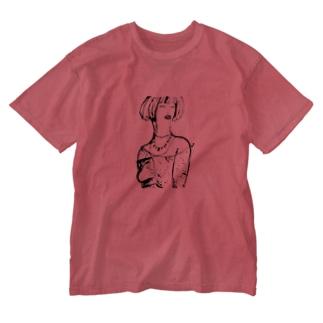 ゴージャス姉さん Washed T-shirts