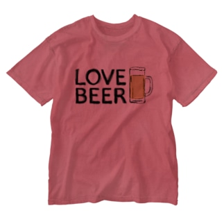 LOVE BEER Washed T-shirts
