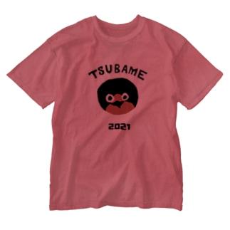 つばめ2021(保立葉菜図案) Washed T-shirts