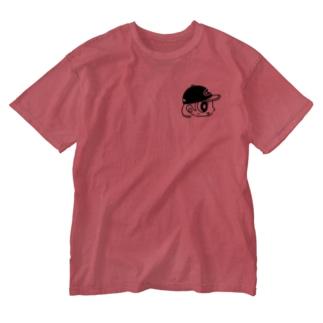 キャップガール Washed T-shirts