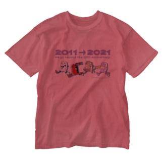メカトロウィーゴALL! Washed T-shirts